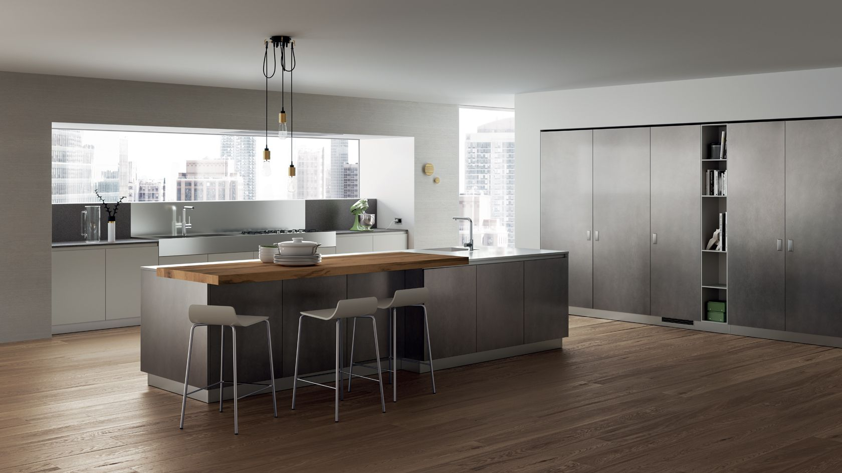 Home holzbar design-ideen foodshelf  scavolini cucine  pinterest  kitchens kitchen design