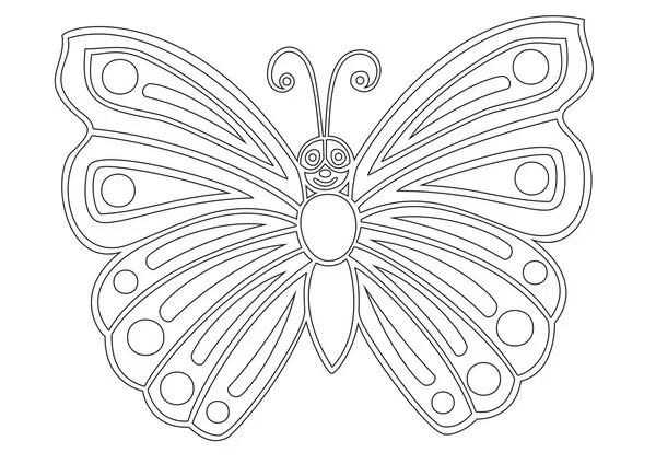 Fluture mare din hârtie cu propriile mâini. Master class