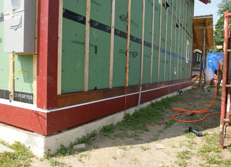 Where To Start First Course Of Wood Siding