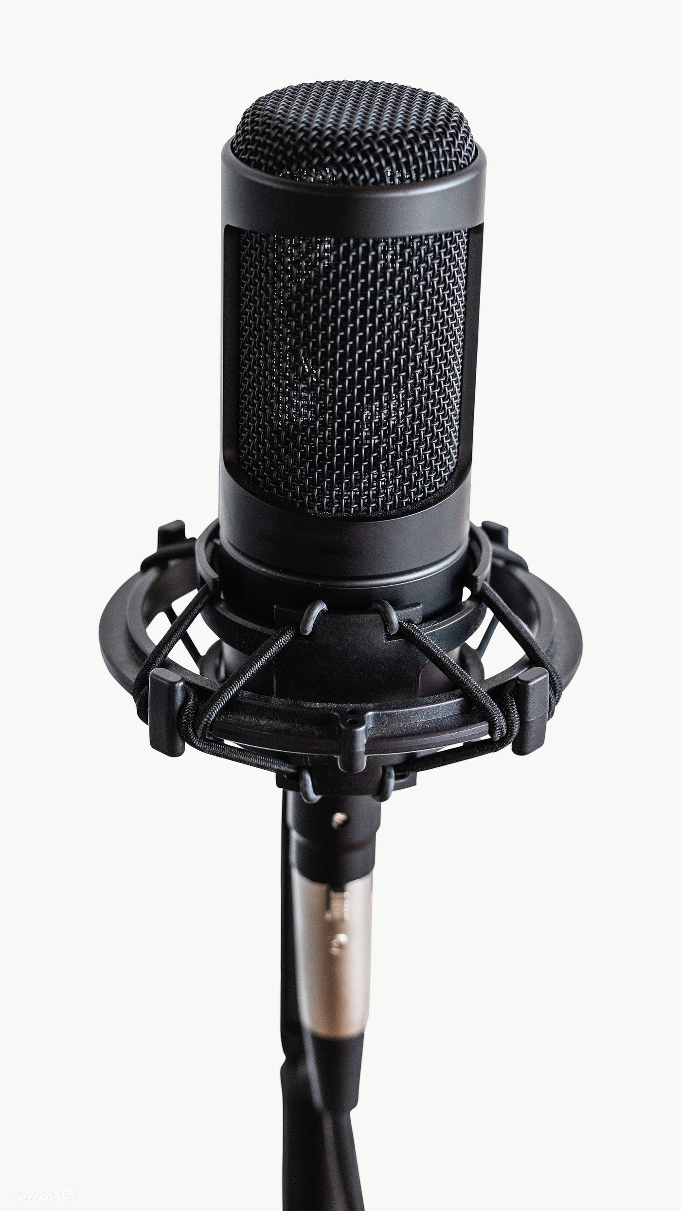Professional Condenser Microphone In A Studio Premium Image By Rawpixel Com Teddy Rawpixel Microphone Microphone Images Condensation