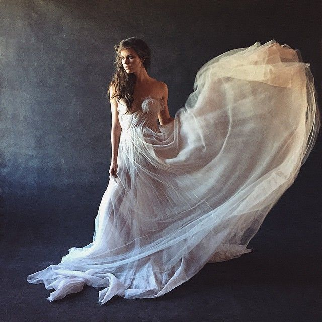 Coastal Wedding in an Embellished Gown by 2 Brides