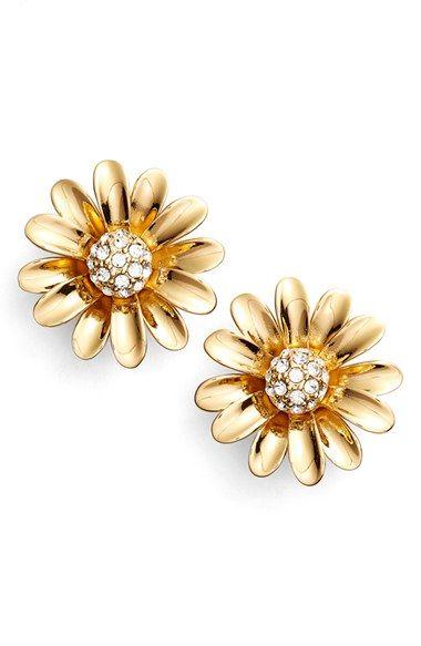 Dazzling Daisy Stud Earrings By Kate Spade