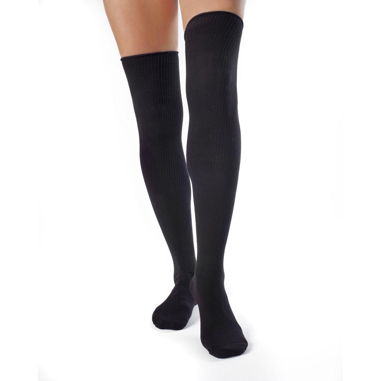 Ivy- Thigh High Organic Cotton Socks