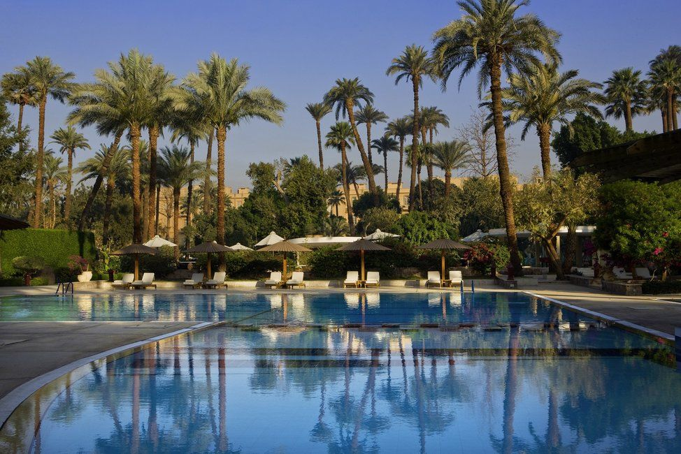 Hotel in Luxor for 3 nights = $426. The hotel is the Sofitel Winter Palace Luxor.