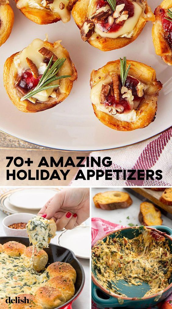 These Thanksgiving apps will keep the fam happy while you finish up the main meal. #thanksgiving #appetizers #thanksgivingrecipes #holiday #holidayrecipes #food #delish #christmas #easy #party #crowdpleasers #recipes #thanksgivingappetizers