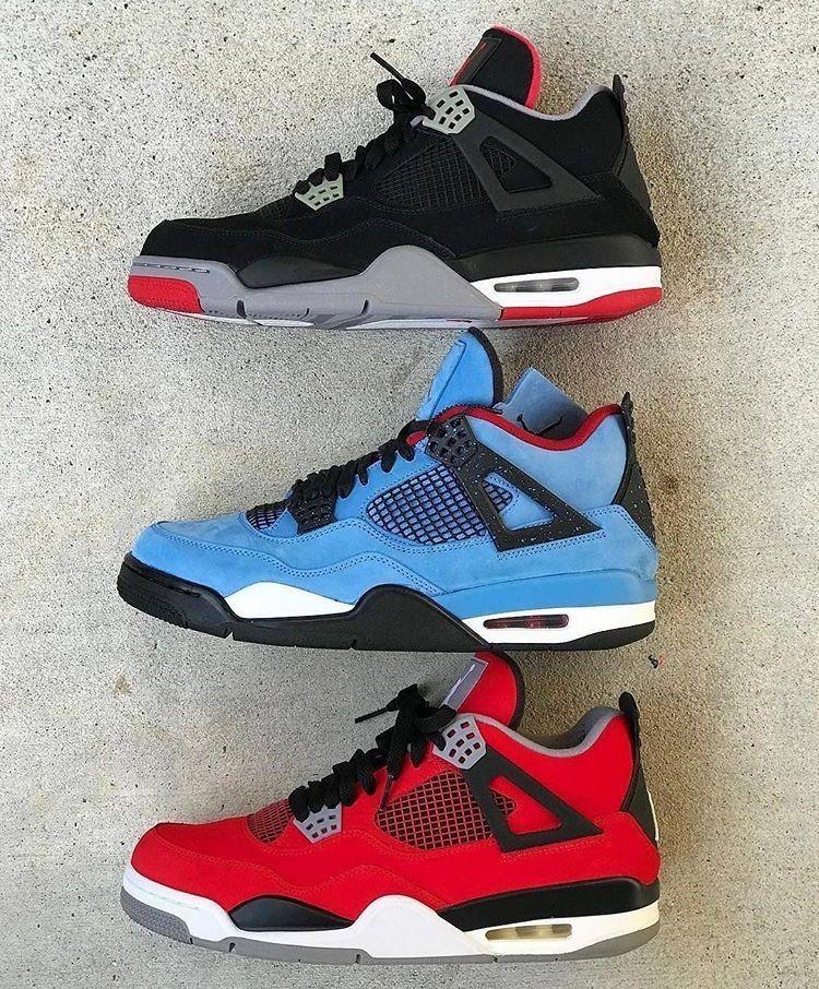"aa22dc7415fd Air Jordan 4 ""Bred"" ""Cactus Jack"" ""Toro"""
