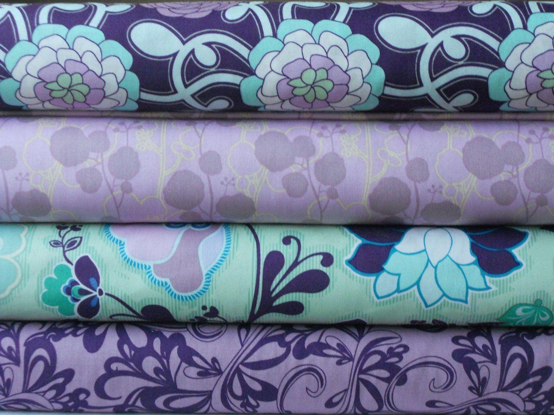 Art Fabric Poetica - Purple Yard Bundle 4