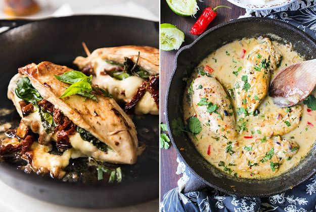 10 delicious chicken dinners you can make in one pan dinners food 10 delicious chicken dinners you can make in one pan forumfinder Gallery