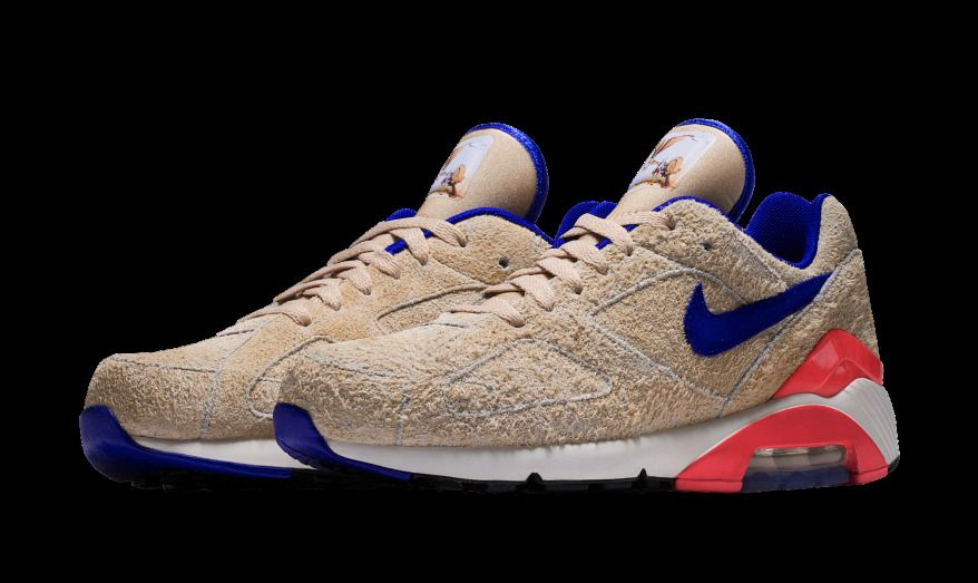 4401971ac8 Nike Air Max 180 Ralph Steadman PRE-ORDER LIMITED TIME Mens sizes 8-15  Suede #Nike #AthleticSneakers
