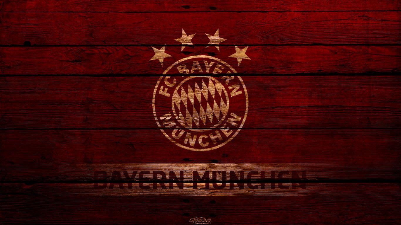 Amazing Bayern Munchen Football Logo Hd Wallpaper Background