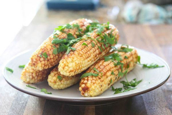 Florida Sweet Corn with Southern Barbecue Butter