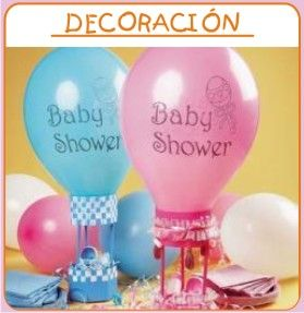 Superior Baby Shower : Awesome Baby Shower Decoration Ideas   Blue And Pink Air  Balloon Baby Shower Decorations