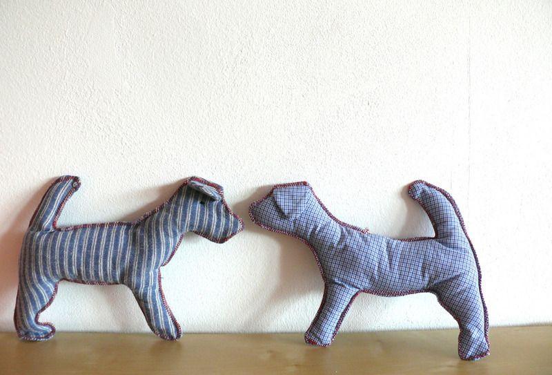 Hund: Agility - Kuschelhund für Hundebabys und Puppys - ein Designerstück von stitchbully bei DaWanda