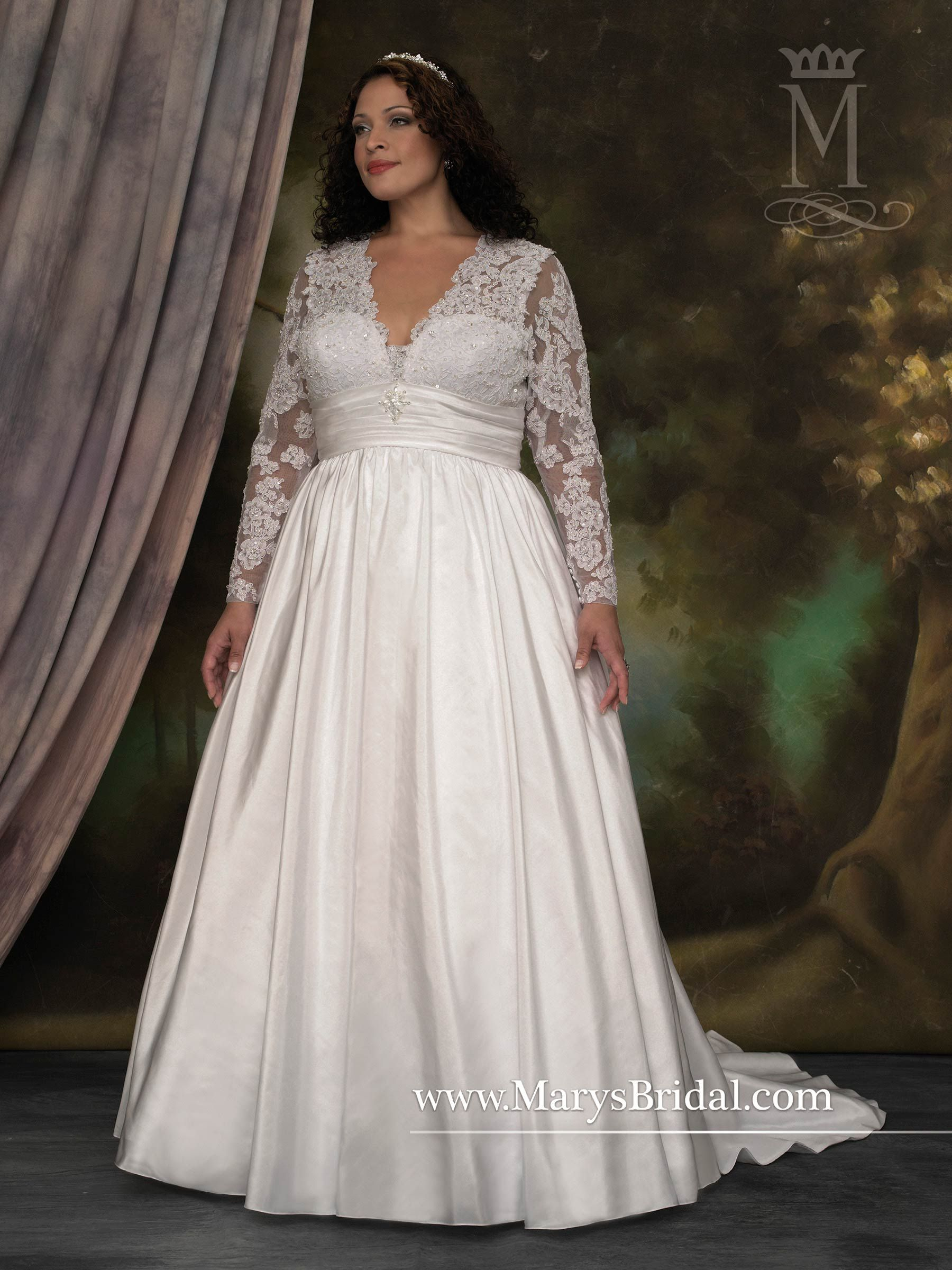 Style 5600 Sleeves Of All Types Are Very Popular For The Bride To Be Who Prefers A Litt Pregnant Wedding Dress Satin Bridal Gowns Elegant Wedding Dresses Lace [ 2400 x 1800 Pixel ]