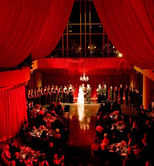 Fabulous RED ceremony