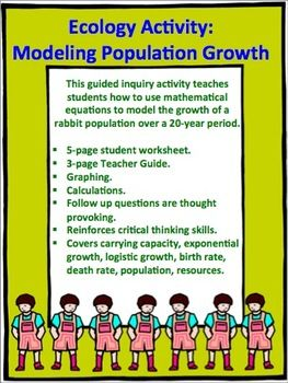 Ecology Activity Modeling Population Growth With Images