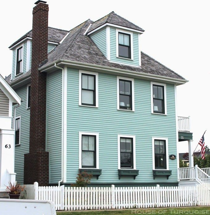 Image Result For Teal Beach House Exterior Paint With Images