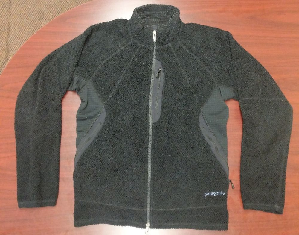 1b8f17716a93 Patagonia Women s Medium R3 Full Zip Black Fleece Jacket - Polartec   fashion  clothing  shoes  accessories  womensclothing  coatsjacketsvests  (ebay link)
