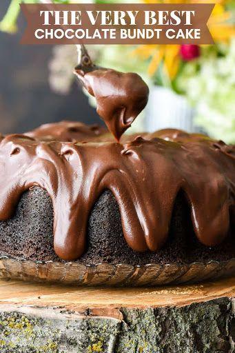 The Best Chocolate Bundt Cake Ever Recipe | Yummly