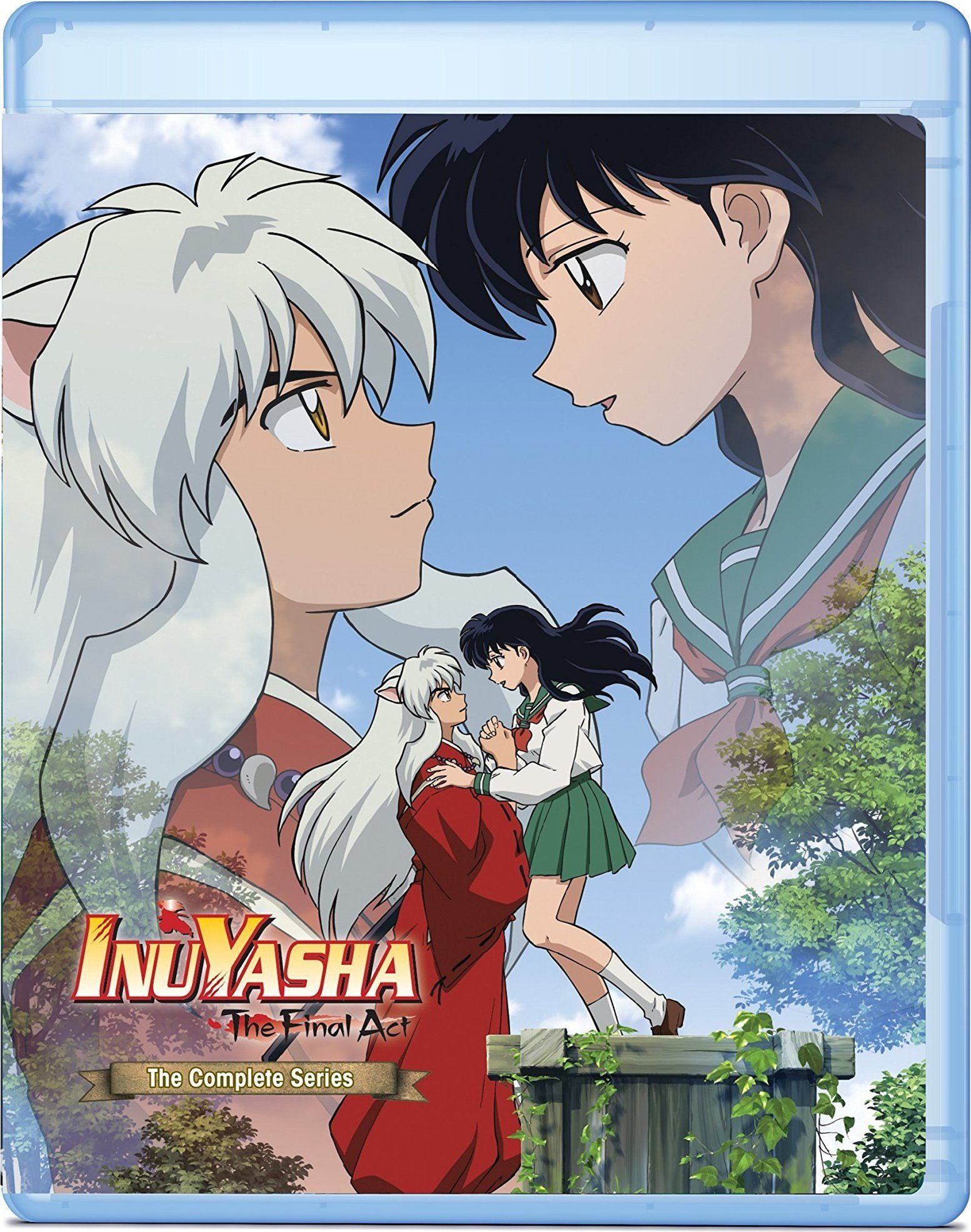Inuyasha the final act the complete series bluray
