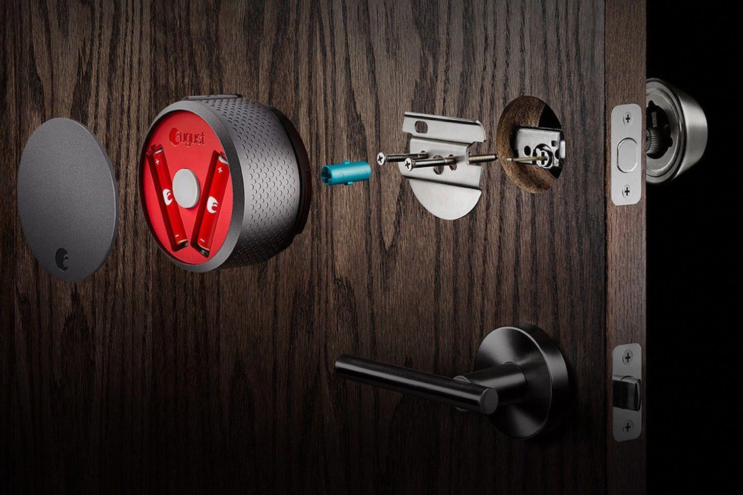 August Smart Lock Now With Homekit Support Review Frontdoor Smart Door Locks August Smart Lock Kit Homes
