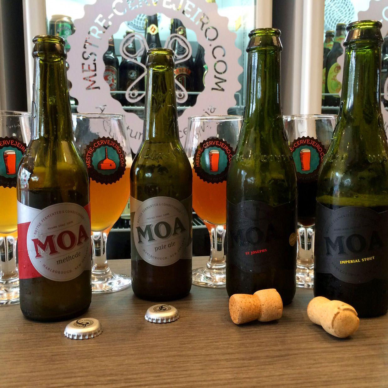 Episódio 119 - Novas cervejas: Moa da Nova Zelândia – Episódio 119 #cerveja #degustacao #beer #tasting