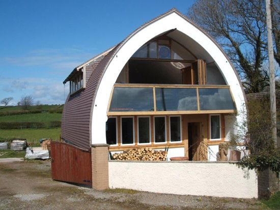 Cumbria-straw-bale-house, ~$50k cost to build | Housing Ideas in