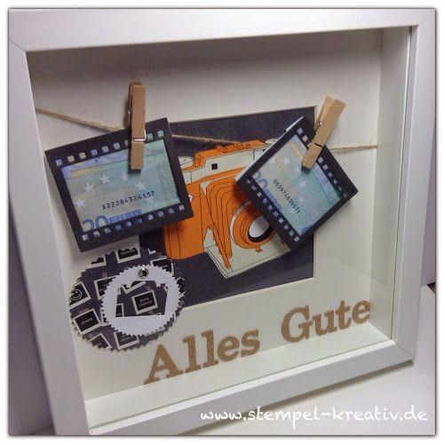 Kreativ Karten gestalten: Ein Geldgeschenk passend verpackt ...