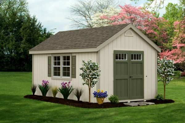 Quality pre-built custom 10x16 garden shed for sale in hayward