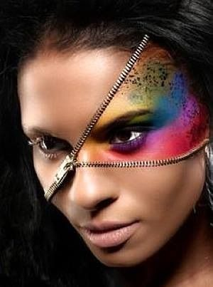 Make up can reinvent your face.