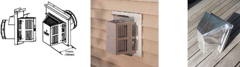 Summer Shield Two Is Perfect For Covering This Trapezoid Termination Cap That Many Direct Vent Fireplaces Have Direct Vent Fireplace Radiant Heat Direct Vent