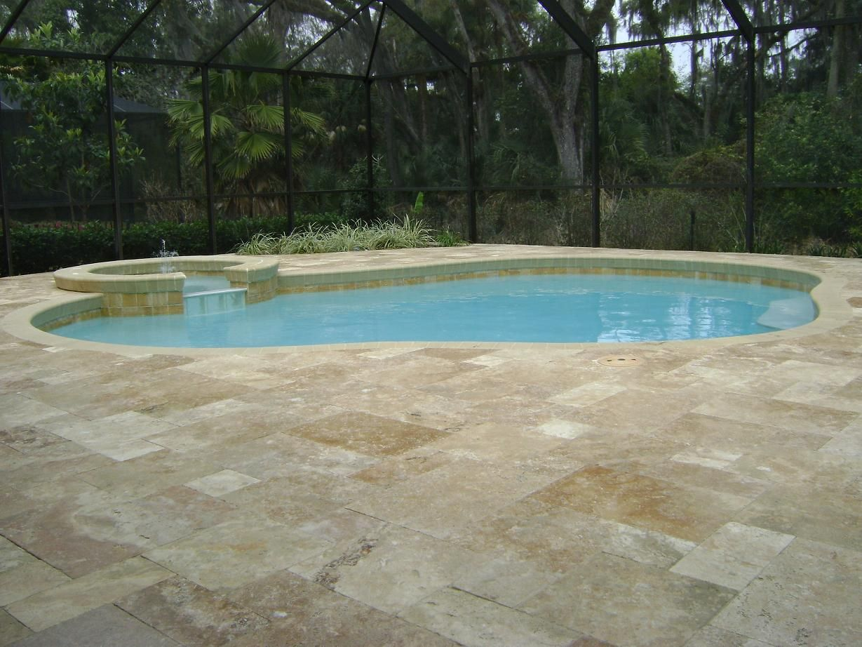 Cool Deck Travertine Glamorous Travertine Deck Gallery  Pool Pictures  Pinterest  Travertine
