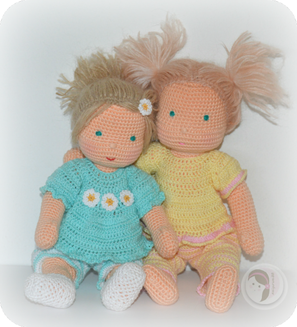 Waldorf inspired baby by amigurumibb free crochet pattern for 5 inch baby dolls for crafts