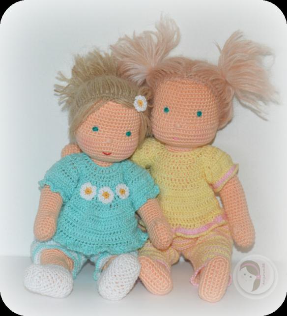 Waldorf Inspired Baby by AmigurumiBB Free crochet pattern | Chochet ...