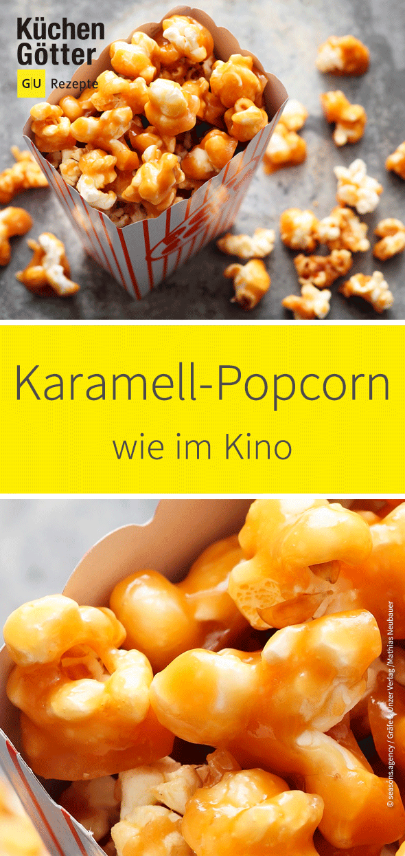 Photo of Karamell-Popcorn wie im Kino