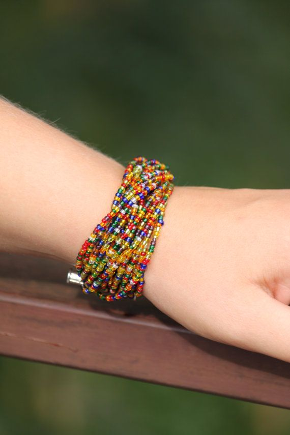 18 thread bracelet from small and shiny by DeaJewelleryStore