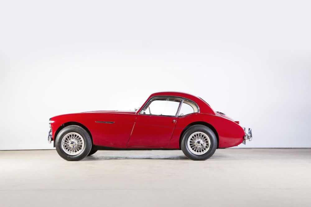 Donald Healey S Personal Austin Healey 100s Coupe In 2020 Austin