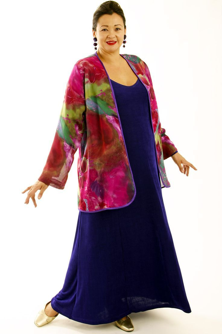 Wedding dresses for grandmother of the groom  Plus Size Special Occasion Jacket Hot Pink Green Purple Silk