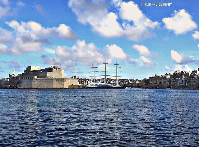 #Sunday #Afternoon with a view of #Birgu #Waterfront - Thanks to @toni_1406 for the #photo -  Tag your #photos with #MaltaPhotography to get a chance to be #featured on @maltaphotography - http://ift.tt/1fpoK0v -  #Yachts #sea #clouds #harbour #sunday #like4like #instagramhub #instafamous #photooftheday #picoftheday #beautifuldestinations #beautiful #view @instagram @beautifuldestinations #worlderlust