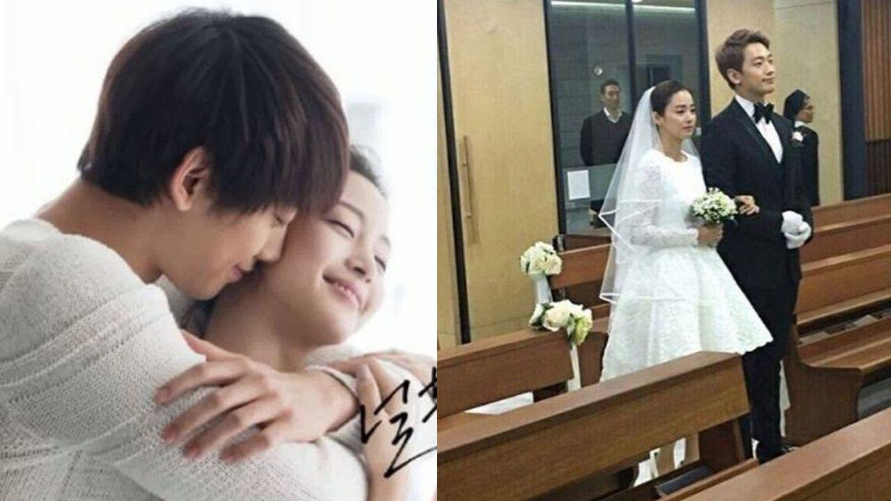 Rain And Kim Tae Hee Are Married Pictures From Their Beautiful Wedding Kim Tae Hee Kim Tae Hee And Rain Jun Ji Hyun Wedding