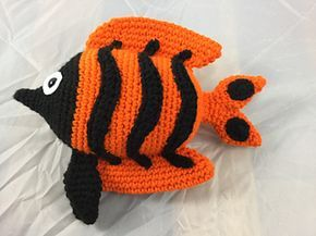 Crochet Free Pattern Amigurumi Fish Stuffed Toy Sea Haken