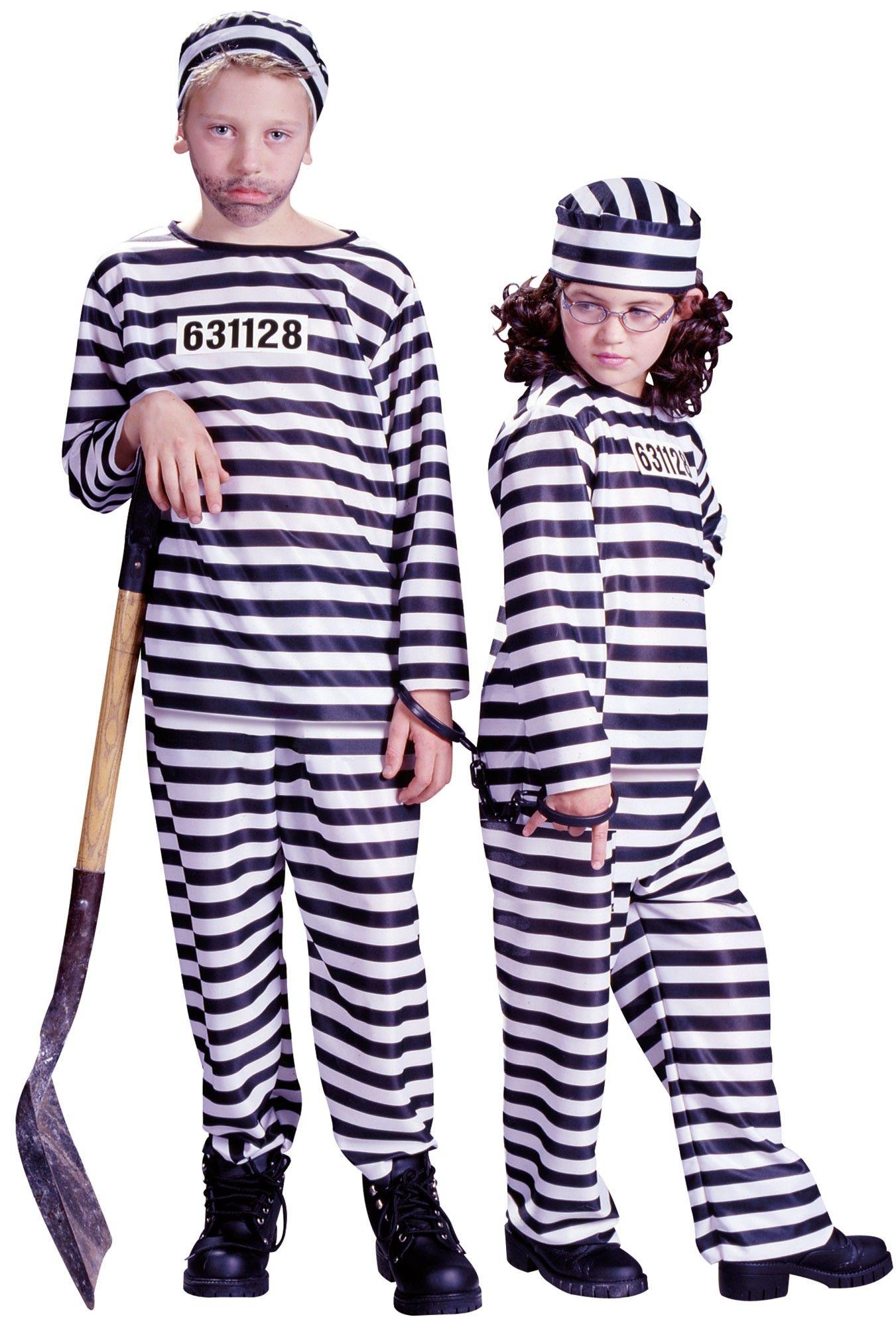 Children's Jailbird Convict Halloween Costume - This is a great ...