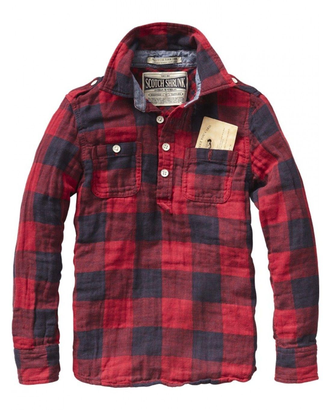 18 Soda Man Camisa And Scotch PlaidWnm Hombre Leñadora Otinv wkPO8n0