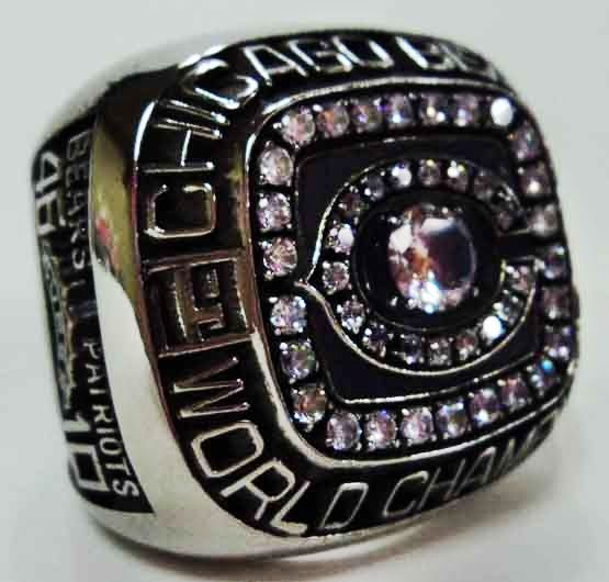 1985 Chicago Bears Ring My Favorite Superbowl Ever First Yr In Chicago Go Bears Chicago Bears Chicago Bears Football 1985 Chicago Bears