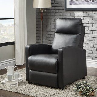Stupendous Saipan Modern Fabric And Leather Recliner Club Chair Inspire Pdpeps Interior Chair Design Pdpepsorg