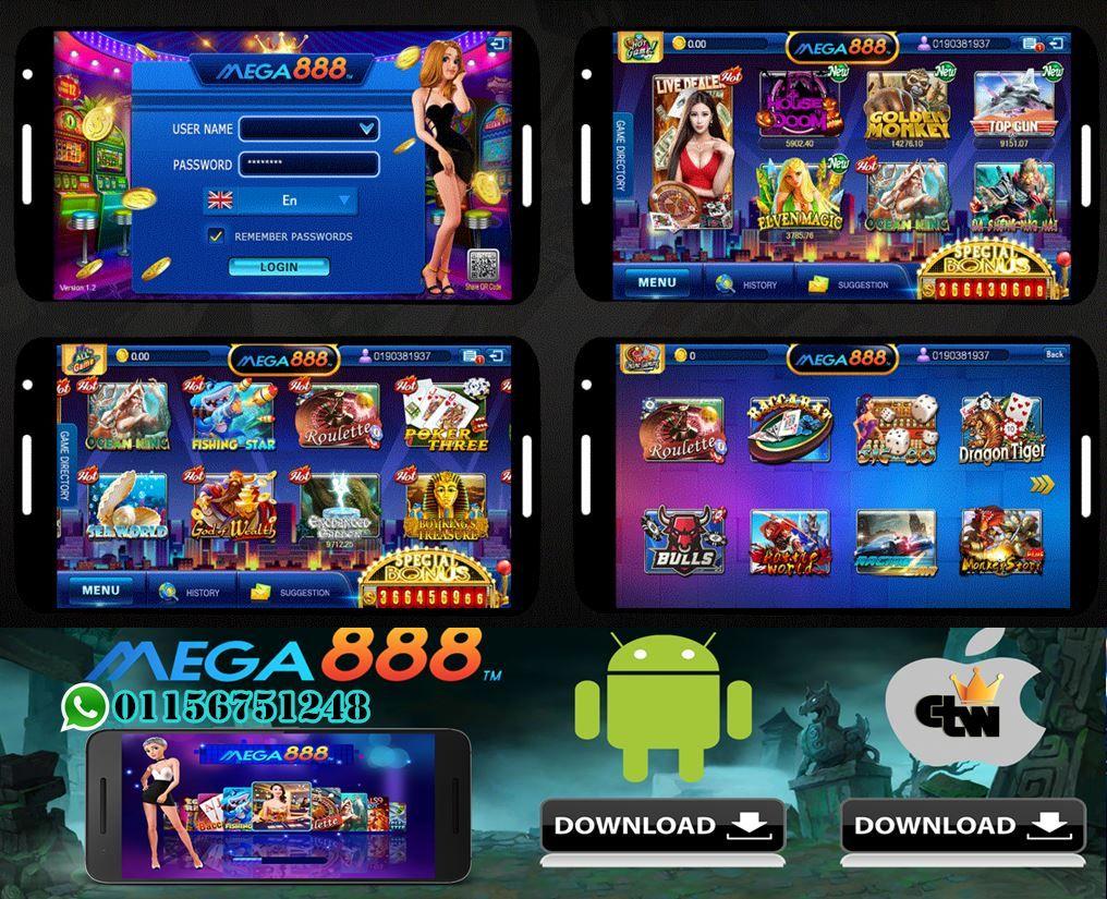 Mega888 Game Malaysia Android