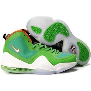 Nike Penny Hardaway V Green/White/Orange Sport