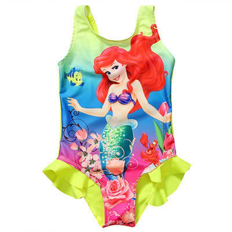 New Style Fashion Kids Baby Girls Toddler Ariel Swimsuit Swimwear Bathing Suit Bikini Tankini Set  sc 1 st  Pinterest & New Style Fashion Kids Baby Girls Toddler Ariel Swimsuit Swimwear ...