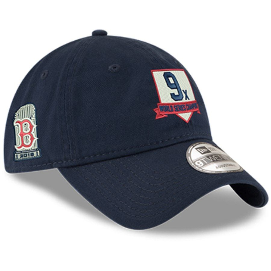 innovative design 5fff0 3f14e Men s Boston Red Sox New Era Navy 2018 World Series Champions Home Plate  9TWENTY Adjustable Hat, Your Price   25.99