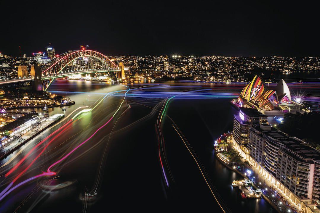 Vivid Sydney, Sydney Opera House, Sydney Harbour Bridge